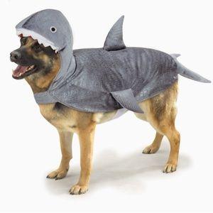 NWT doggie shark costume